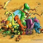 Настольная игра: ЭВО век динозавров