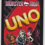 Настольная игра: Uno Monster High