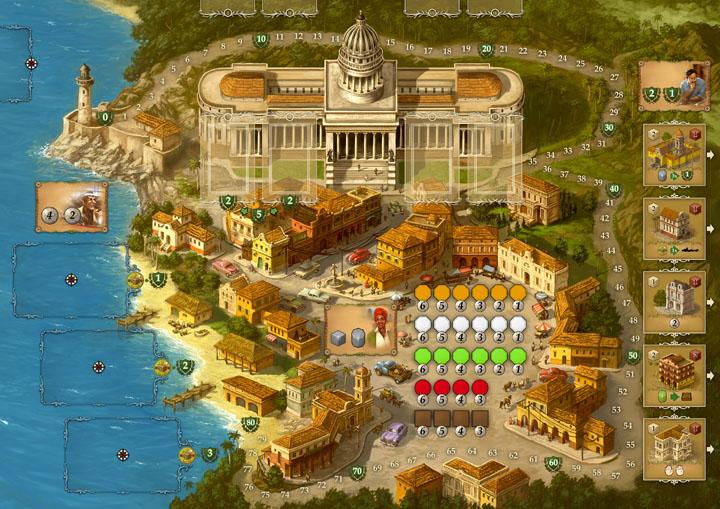 настольная игра Куба и Эль Президенте