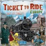 Настольная игра: Билет на поезд (Европа)