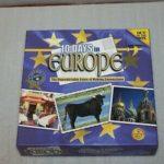 Настольная игра: 10 дней в Европе