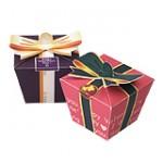 Подарочная упаковка: коробка с бантиком