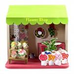 Бумажный домик — цветочный магазин