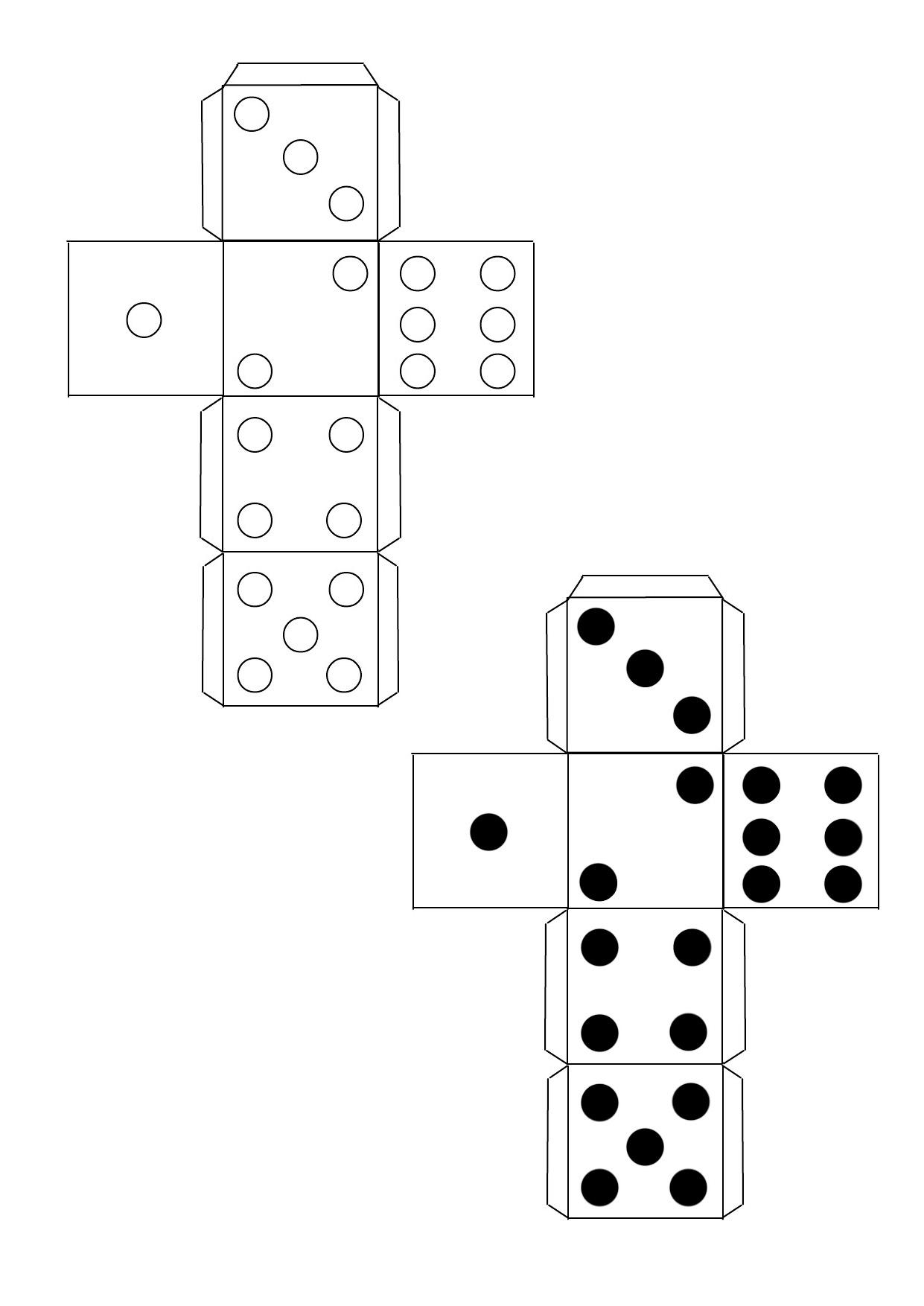 обычный кубик для игры